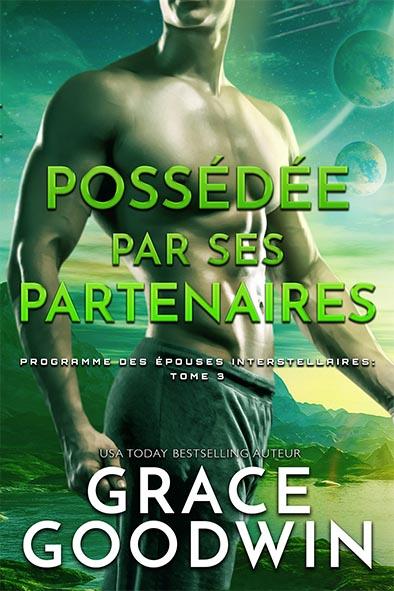 couverture de livre pour Possédée par ses partenaires par Grace Goodwin