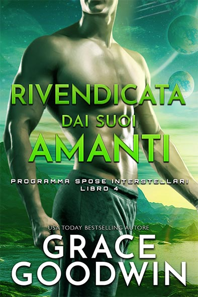 copertina per Rivendicata dai suoi amanti da Grace Goodwin