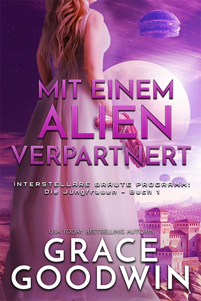Buchdeckel für Mit einem Alien verpartnert von Grace Goodwin