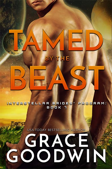 book cover for Tamed By The Beast by Grace Goodwin