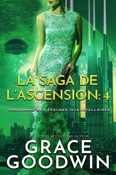 couverture de livre pour La Saga de l'Ascension: 4 par Grace Goodwin