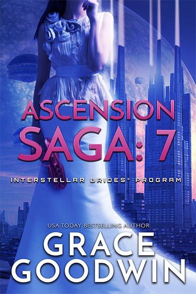 book cover for Ascension Saga Book 7 by Grace Goodwin