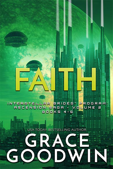 book cover for Faith - Ascension Saga - Volume 2 by Grace Goodwin