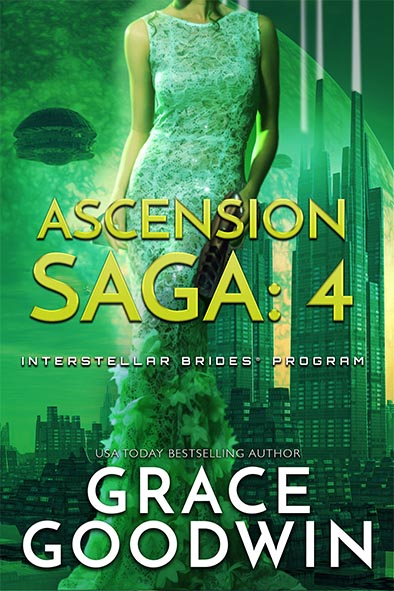 book cover for Ascension Saga Book 4 by Grace Goodwin