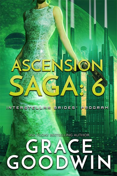 book cover for Ascension Saga Book 6 by Grace Goodwin