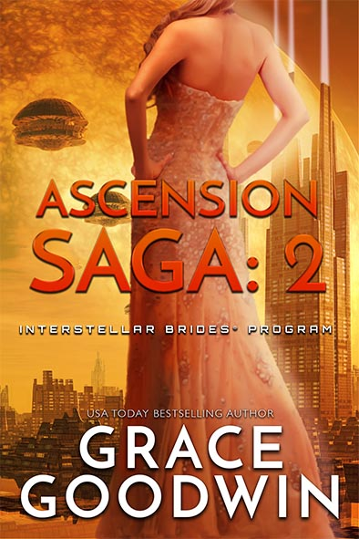 book cover for the Ascension Saga Book 2 by Grace Goodwin