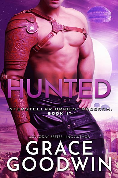 book cover for Hunted by Grace Goodwin