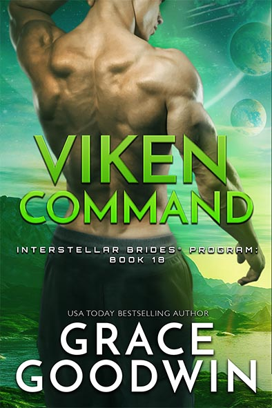 book cover for Viken Command by Grace Goodwin