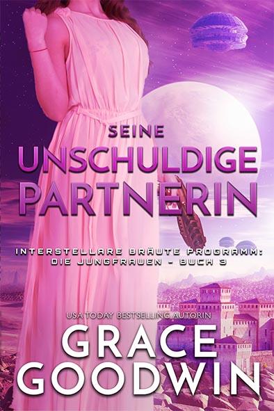 Buchdeckel für Seine unschuldige Partnerin von Grace Goodwin