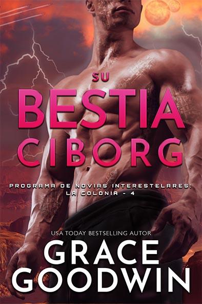 tapa del libro para Su bestia ciborg por Grace Goodwin