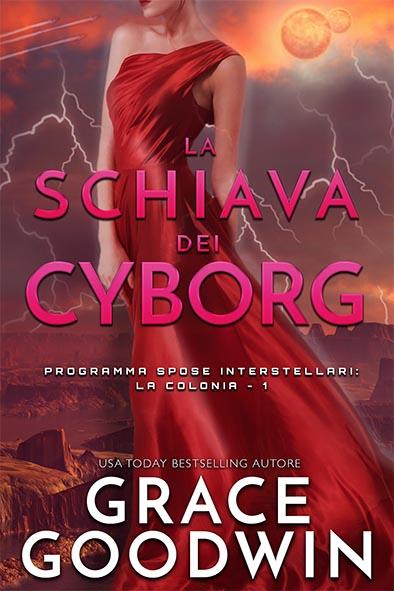 copertina per La schiava dei cyborg da Grace Goodwin
