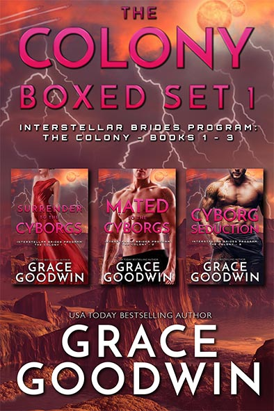 book cover for The Colony Boxed Set 1 Books 1 – 3 by Grace Goodwin