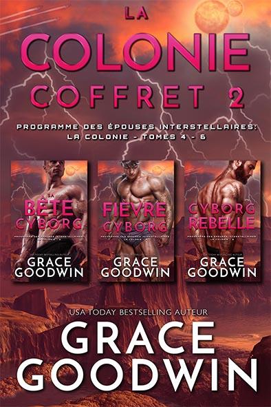 couverture de livre pour La Colonie - Coffret 2 (Tomes 4-6) par Grace Goodwin