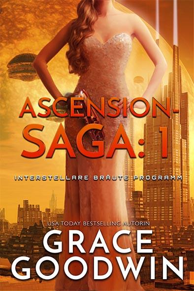 Buchdeckel für Ascension-Saga: 1 von Grace Goodwin
