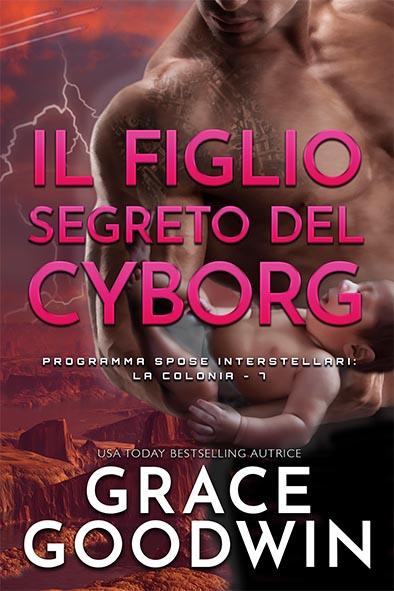 copertina per Il figlio segreto del cyborg da Grace Goodwin