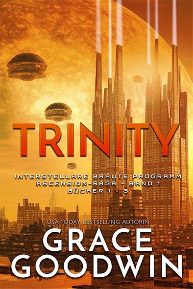 Buchdeckel für Trinity: Ascension-Saga: Bücher 1-3 von Grace Goodwin