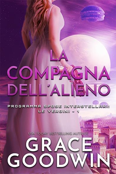 copertina per La compagna dell'alieno da Grace Goodwin