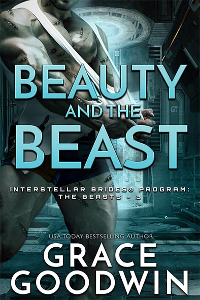 book cover for Beauty and the Beast by Grace Goodwin