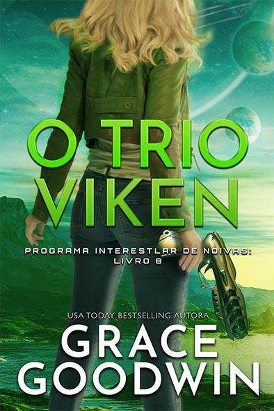 capa de livro para O Trio Viken por Grace Goodwin