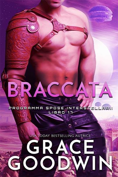 copertina per Braccata da Grace Goodwin