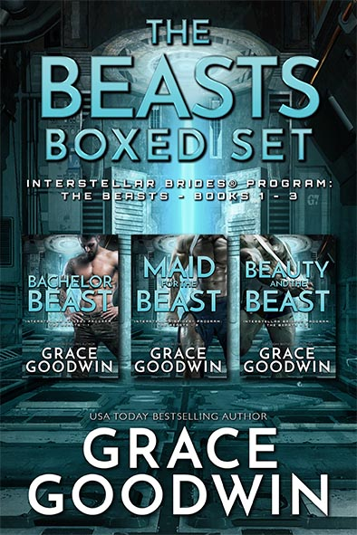 book cover for The Beasts Boxed Set by Grace Goodwin