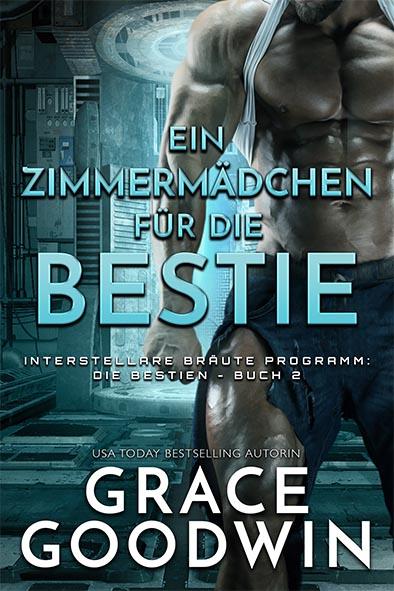 Buchdeckel für Ein Zimmermädchen für die Bestie von Grace Goodwin