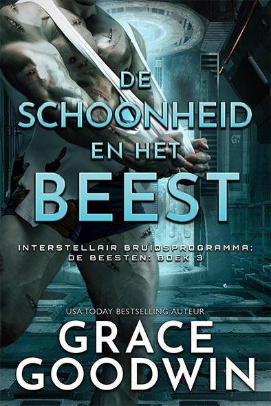 boekomslag voor De schoonheid en het beest door Grace Goodwin