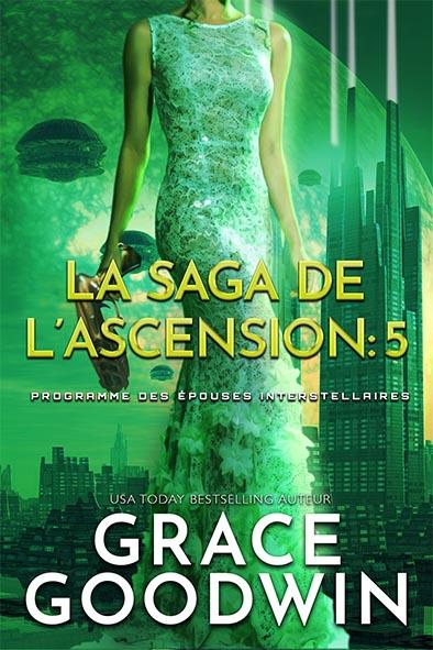 couverture de livre pour La Saga de l'Ascension: 5