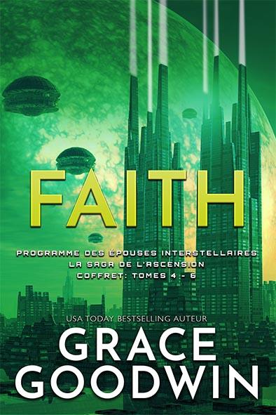 couverture de livre pour La Saga de l'Ascension Coffret: Tomes 4 - 6 par Grace Goodwin