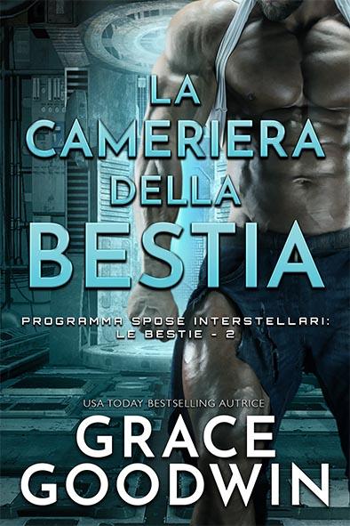copertina per La cameriera della bestia da Grace Goodwin