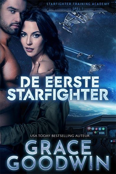 boekomslag voor De eerste Starfighter door Grace Goodwin